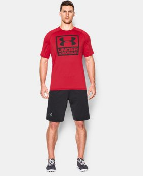 Men's UA Tech™ Boxed Logo T-Shirt