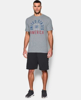New Arrival Men's USA Pride T-Shirt  1 Color $34.99
