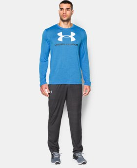 Men's UA Tech™ Sportstyle Long Sleeve T-Shirt   $26.99