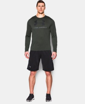 Men's UA Tech™ Sportstyle Long Sleeve T-Shirt   $29.99