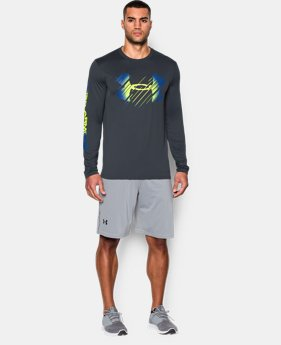 Men's UA Tech™ Fade Logo Long Sleeve T-Shirt