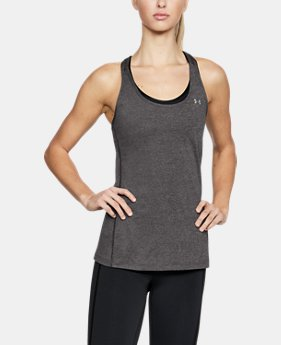 Best Seller  Women's UA HeatGear® Armour Racer Tank LIMITED TIME: FREE SHIPPING 3  Colors Available $29.99