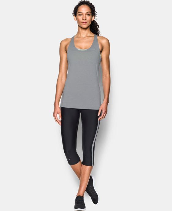 Women's UA HeatGear® Armour Racer Tank LIMITED TIME: FREE U.S. SHIPPING 1 Color $14.24 to $18.99