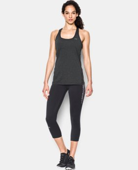 Women's UA HeatGear® Armour Racer Tank LIMITED TIME: FREE SHIPPING 3 Colors $29.99
