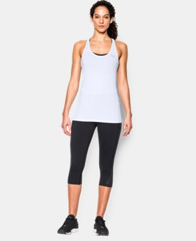 New Arrival  Women's UA HeatGear® Armour Racer Tank LIMITED TIME: FREE SHIPPING 1 Color $29.99