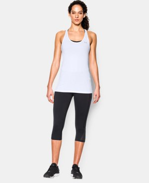 New Arrival  Women's UA HeatGear® Armour Racer Tank  1 Color $29.99