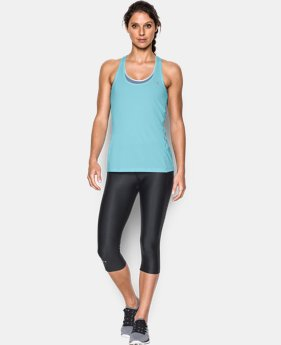 Women's UA HeatGear® Armour Racer Tank LIMITED TIME: FREE SHIPPING 4 Colors $24.99