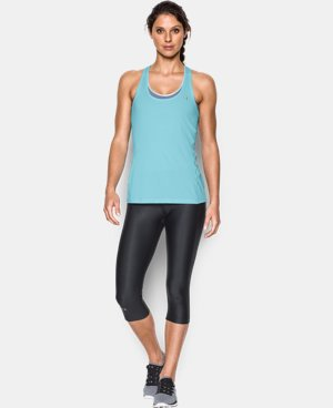 Women's UA HeatGear® Armour Racer Tank LIMITED TIME: FREE U.S. SHIPPING 1 Color $24.99
