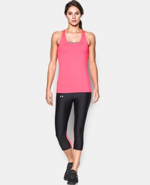 Women's UA HeatGear® Armour Racer Tank  7 Colors $29.99