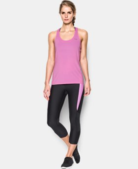 Women's UA HeatGear® Armour Racer Tank LIMITED TIME: FREE SHIPPING 1 Color $24.99