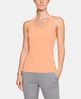 Best Seller Women's HeatGear® Racer Tank  1  Color Available $24.99