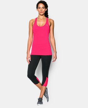 Women's UA HeatGear® Armour Racer Tank  2 Colors $18.99