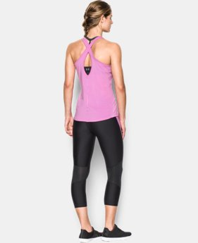 Women's UA CoolSwitch Tank LIMITED TIME: FREE SHIPPING 1 Color $34.99
