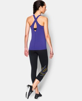 Women's UA CoolSwitch Tank LIMITED TIME: FREE SHIPPING 4 Colors $29.99 to $39.99