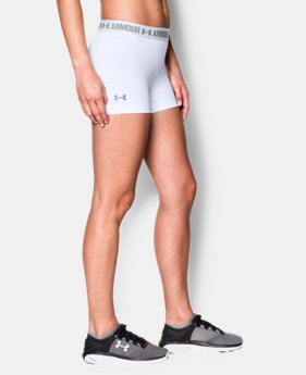 "Women's UA HeatGear® Armour 3"" Shorty  1 Color $18.99"