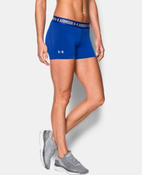 "Women's UA HeatGear® Armour 3"" Shorty  2 Colors $14.24 to $18.99"