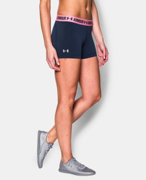 "Women's UA HeatGear® Armour 3"" Shorty LIMITED TIME: FREE U.S. SHIPPING 1 Color $14.24 to $18.99"