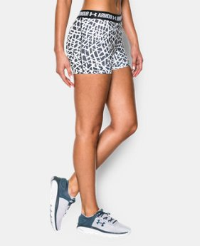 "Women's UA HeatGear® Armour Printed 3"" Shorty  2 Colors $20.99 to $26.99"