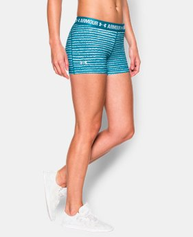 "Women's UA HeatGear® Armour Printed 3"" Shorty  3 Colors $17.24 to $22.99"