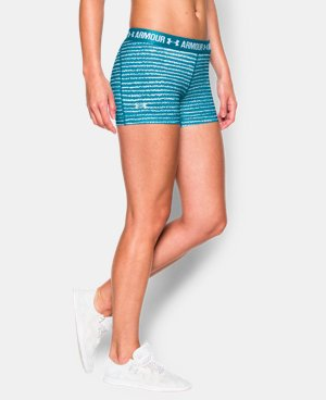 "Women's UA HeatGear® Armour Printed 3"" Shorty  2 Colors $17.24 to $22.99"