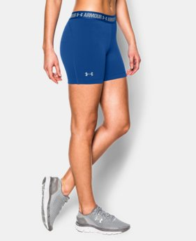 "Women's UA HeatGear® Armour 5"" Mid LIMITED TIME: FREE U.S. SHIPPING 1 Color $13.49 to $22.99"
