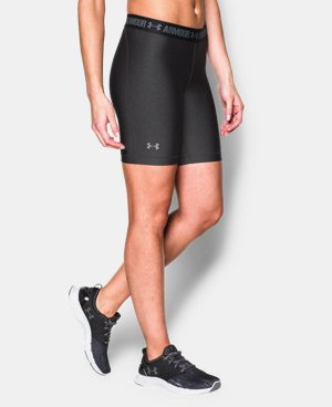 "Women's UA HeatGear® Armour 7"" Long LIMITED TIME: FREE SHIPPING 3 Colors $20.24 to $26.99"