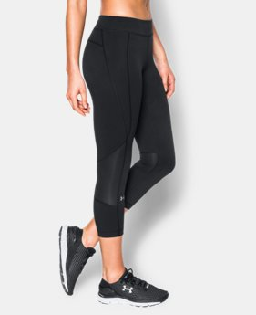 Women's UA HeatGear® Armour Crop LIMITED TIME: FREE SHIPPING 2 Colors $49.99