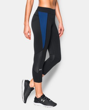 New Arrival  Women's UA HeatGear® Armour Crop LIMITED TIME: FREE SHIPPING 1 Color $37.99