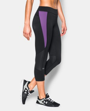 New to Outlet Women's UA HeatGear® Armour Crop LIMITED TIME: FREE U.S. SHIPPING 1 Color $26.99