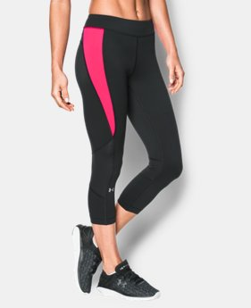 New to Outlet Women's UA HeatGear® Armour Crop  1 Color $20.24 to $33.99