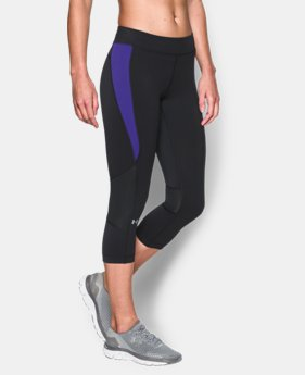 New to Outlet Women's UA HeatGear® Armour Crop  5 Colors $20.24 to $25.49