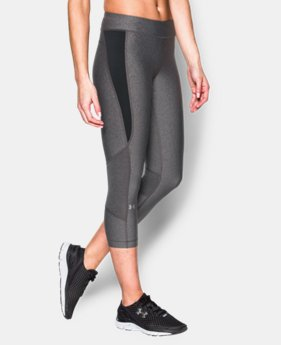 New to Outlet Women's UA HeatGear® Armour Crop  2 Colors $33.99