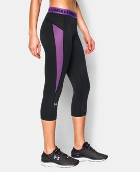 Best Seller Women's UA HeatGear® CoolSwitch Capri  3 Colors $44.99