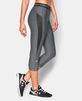 Women's UA HeatGear® CoolSwitch Capri  3 Colors $49.99