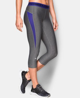 Best Seller Women's UA HeatGear® CoolSwitch Capri   $44.99