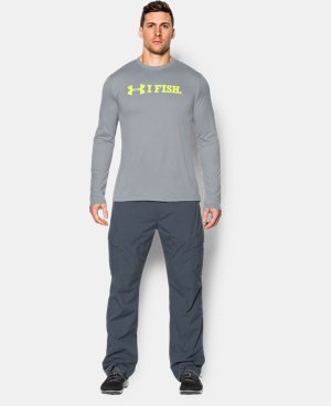 Men's UA I Fish Long Sleeve T-Shirt LIMITED TIME: FREE U.S. SHIPPING 1 Color $20.24 to $26.99