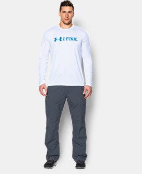 Men's UA I Fish Long Sleeve T-Shirt  1 Color $22.49