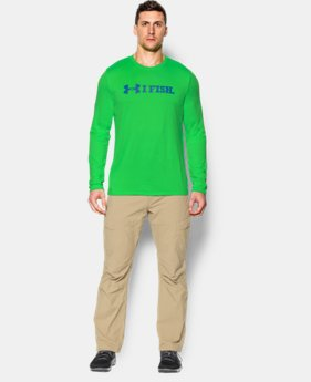Men's UA I Fish Long Sleeve T-Shirt LIMITED TIME: FREE SHIPPING  $34.99