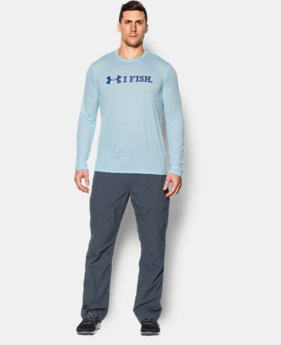 Men's UA I Fish Long Sleeve T-Shirt LIMITED TIME: FREE SHIPPING 1 Color $20.24 to $26.99