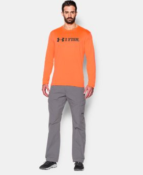 Men's UA I Fish Long Sleeve T-Shirt  1 Color $34.99
