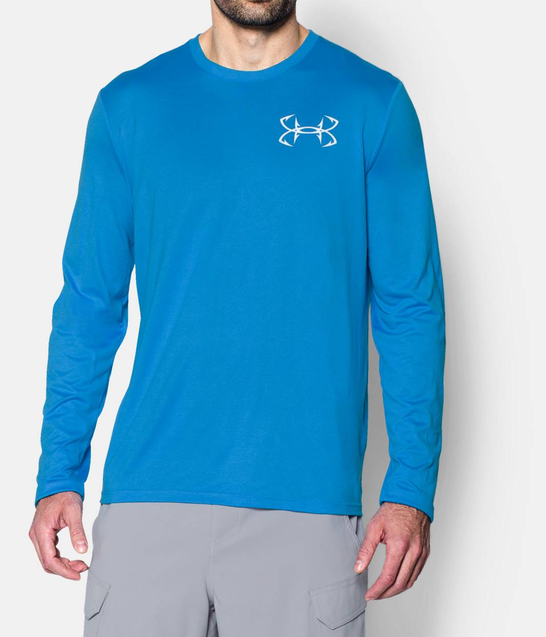 Men s ua fishing long sleeve t shirt under armour ca for Under armor fishing shirt