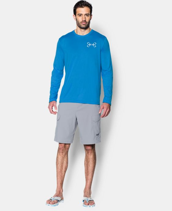 Men's UA Fishing Long Sleeve T-Shirt  1 Color $39.99