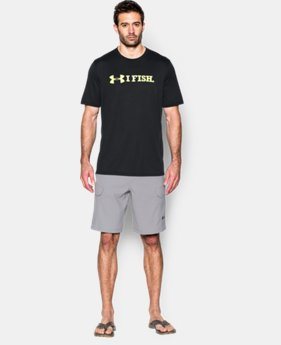 Men's UA I Fish T-Shirt LIMITED TIME: FREE SHIPPING 2 Colors $32.99