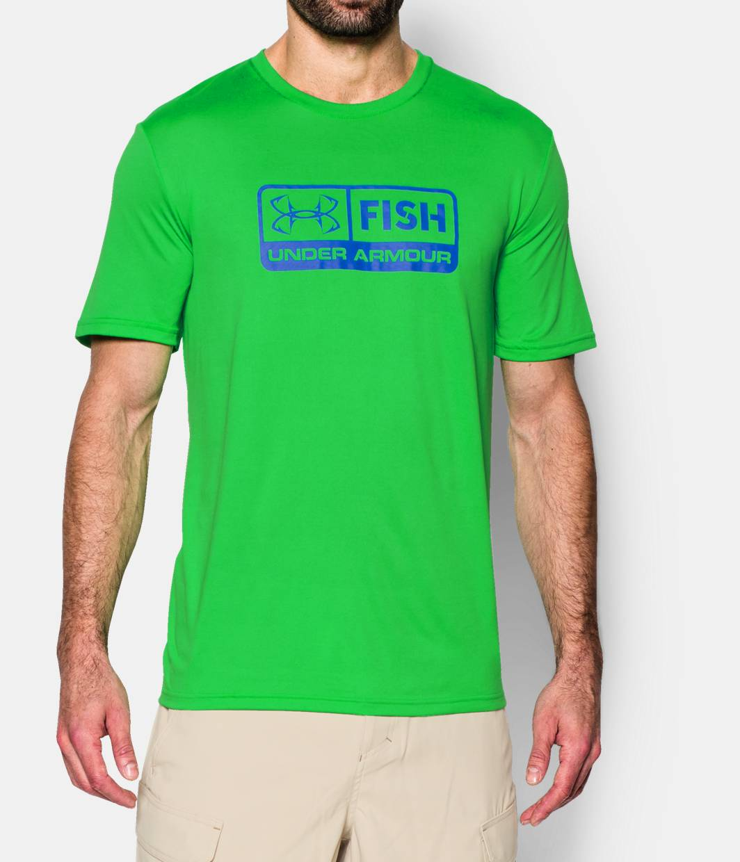 Men s ua fish t shirt under armour us for Under armour fishing shirts clearance
