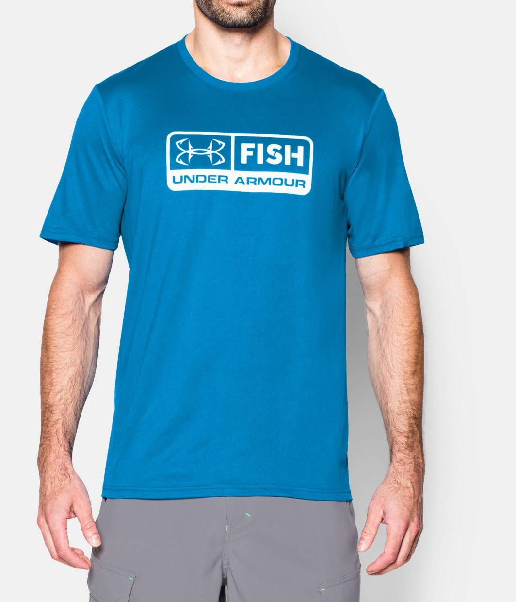 Men s ua fish t shirt under armour us for Under armor fishing shirt