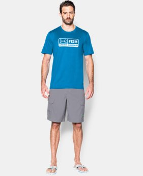 Men's UA Fish T-Shirt LIMITED TIME: FREE SHIPPING 2 Colors $32.99