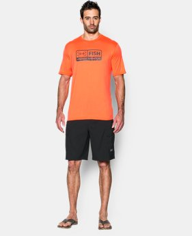 Men's UA Fish T-Shirt LIMITED TIME: FREE SHIPPING 1 Color $32.99