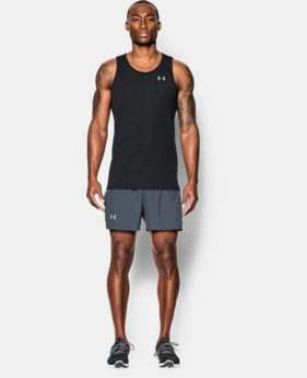 Men's UA Threadborne Streaker Singlet LIMITED TIME: FREE SHIPPING 1  Color Available $32.99