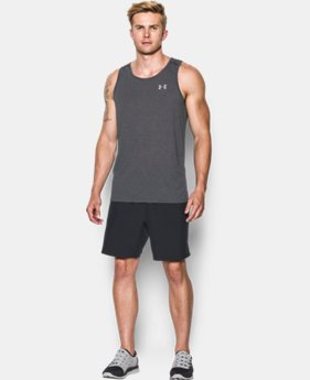 Men's UA Streaker Run Singlet  3 Colors $27.99