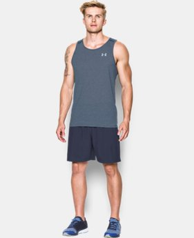 New Arrival  Men's UA Streaker Run Singlet LIMITED TIME: FREE SHIPPING  $32.99